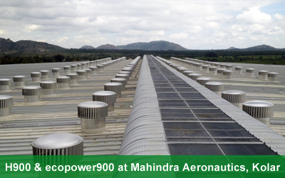 Hurricane900 & ecoPOWER900 at Mahindra Aeronautics, Kolar