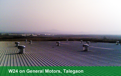 W24 on General Motors, Talegaon