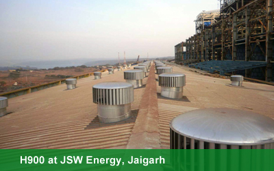 H900 at JSW Energy, Jaigarh