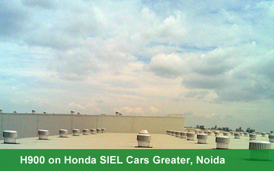 H900 on Honda SIEL Cars Greater, Noida