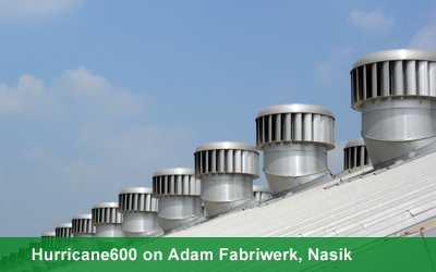 Hurricane600 on Adam Fabriwerk, Nasik